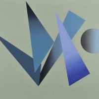 Armonia 3, acrilico su tela, 80x100, 2009