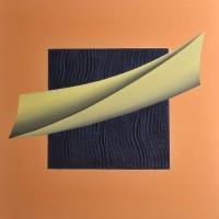 Lettera, tecncia mista su tela, 80x80,2010
