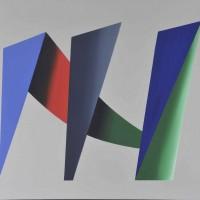 Palcoscenico 4, acrilico su tela, 80x100, 2010