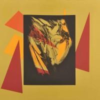 Ritratto, tecnica mista su tela 80x100, 2009