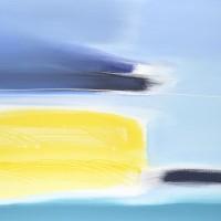 Paesaggio fantastico 11, tecnica mista su tela, 100x80, 2011