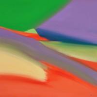 Primavera, 2012, acrilico su tela, cm 100x100