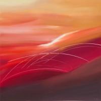 Respiro, 2012, tecnica mista su tela, cm 100x100