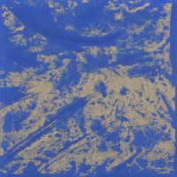 Oriente 13, tecnica mista su tela, 30x30, 2009