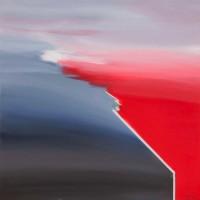 Incontro, 2012, acrilico su tela, cm 100x100