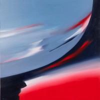 Terra e cielo, 2012, acrilico su tela, cm100x100