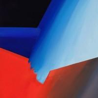 Oltremare, 2011, acrilico su tela, cm 70x100