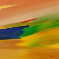 Fiordaliso, 2013, acrilico su tela, 50x50