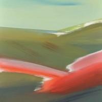 Paesaggio fantastico 6, acrilico su tela,80x100, 2011