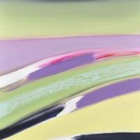 Paesaggio fantastico 7, tecnica mista su tela, 80x100, 2011