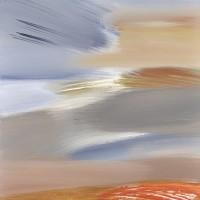 Paesaggio fantastico 9, tecnica mista su tela, 60x120, 2011