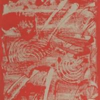 Oriente 2, tecnica mista su tela, 50x100, 2009