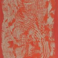 Oriente 3, tecnica mista su tela, 50x100, 2009