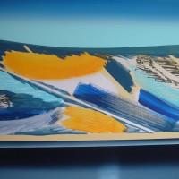 Orizzonte 3, tecnica mista su tela 70x100, 2008