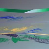 Vento di scirocco, tecnica. mista su tela, 80x100,2010