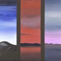 Viaggio nel mediterraneo 1, acrilico su tela, cm. 80x100, 2010
